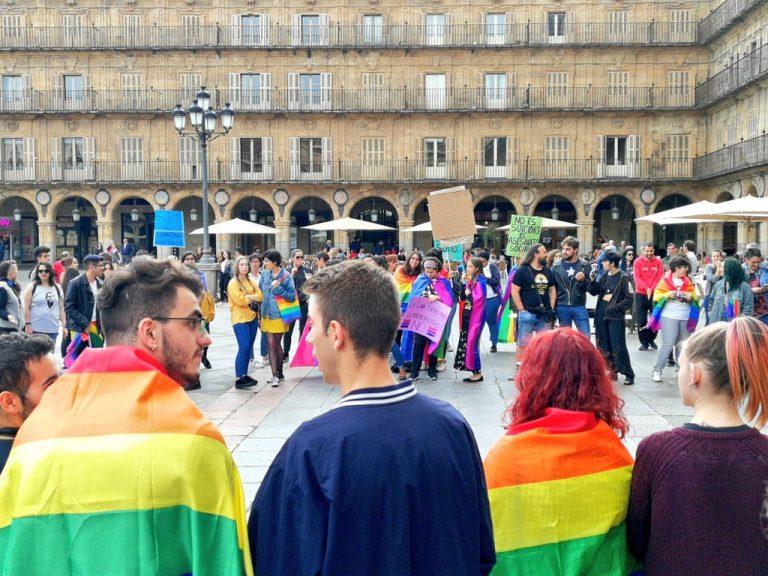 Juventudes Socialistas de Salamanca exige seguir avanzando para alcanzar la igualdad efectiva del colectivo LGTBI+