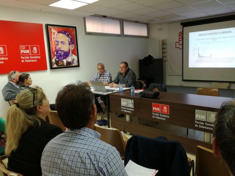 El PSOE forma a los alcaldes y concejales de Salamanca en relación a la nueva Ley de Contratos públicos para mejorar la gestión municipal y el servicio a los ciudadanos