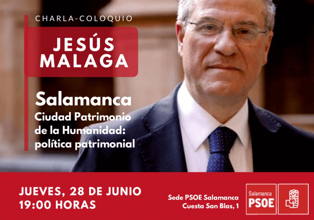 Cartel charla Jesús Málaga (1)