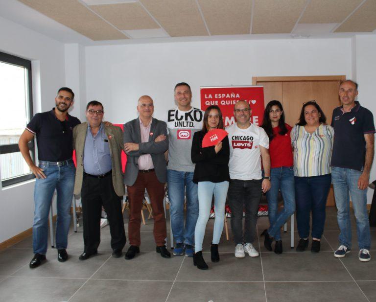 Transparencia, participación, empleo y tejido empresarial, ejes del programa del PSOE para Castellanos de Moriscos