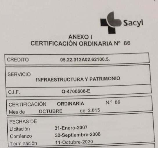 El PSOE exige que lo primero que haga el próximo titular de la Consejería de Sanidad sea explicar los retrasos en las obras del Hospital de Salamanca
