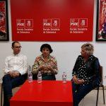 Candidatos del PSOE por Salamanca al Congreso y al Senado mantienen una reunión con colectivos de mujeres para hacerlos partícipes en las políticas socialistas de Igualdad