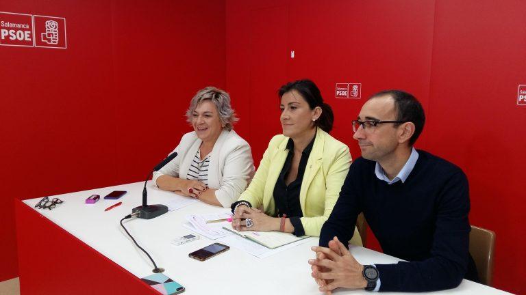 """Ana Sánchez llama a la movilización en Salamanca a todos aquellos a los que """"les robaron la victoria en las elecciones generales de abril"""""""