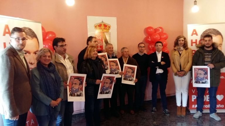 El PSOE de Salamanca homenajea en Cereceda de la Sierra a los alcaldes y alcaldesas socialistas más veteranos de la Sierra de Francia