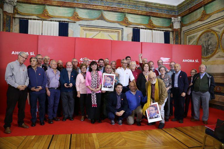 Cristina Narbona pide en Salamanca movilización máxima para frenar en España la unión de las tres derechas