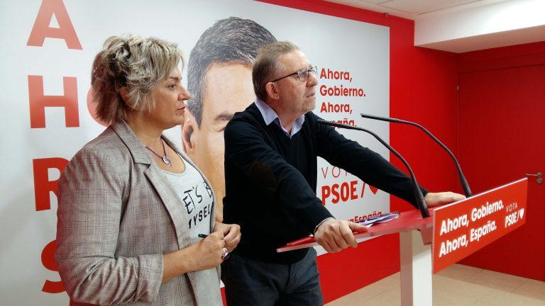 «Un gobierno fuerte del PSOE para cambiar la cosas y avanzar en el Estado del Bienestar frente a un gobierno de las derechas que quiere volver a la España en blanco y negro»