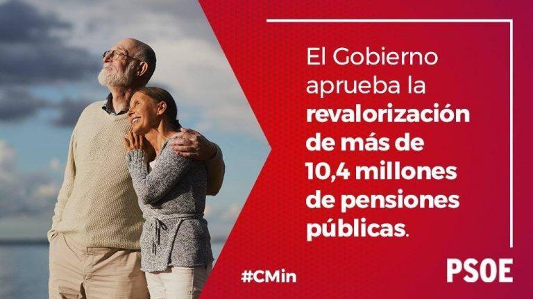 El Gobierno de España revaloriza más de 90.000 pensiones públicas en la provincia de Salamanca