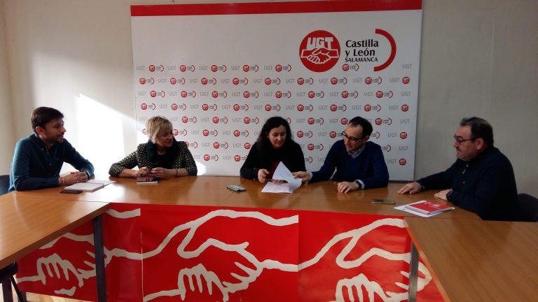 Los parlamentarios nacionales del PSOE de Salamanca consensuan con UGT propuestas en materia laboral para trasladarlas al gobierno