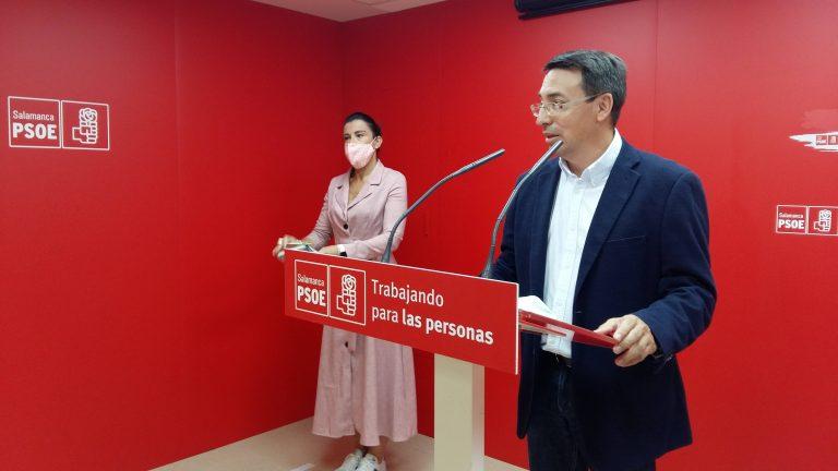 El PSOE de Salamanca se suma a la ceremonia y al homenaje de Estado en recuerdo de los fallecidos por el Coronavirus