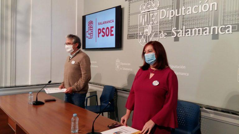 Iniciativas del Grupo Socialista en la Diputación de Salamanca al próximo Pleno