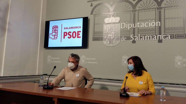 Mociones del PSOE al Pleno de la Diputación de Salamanca