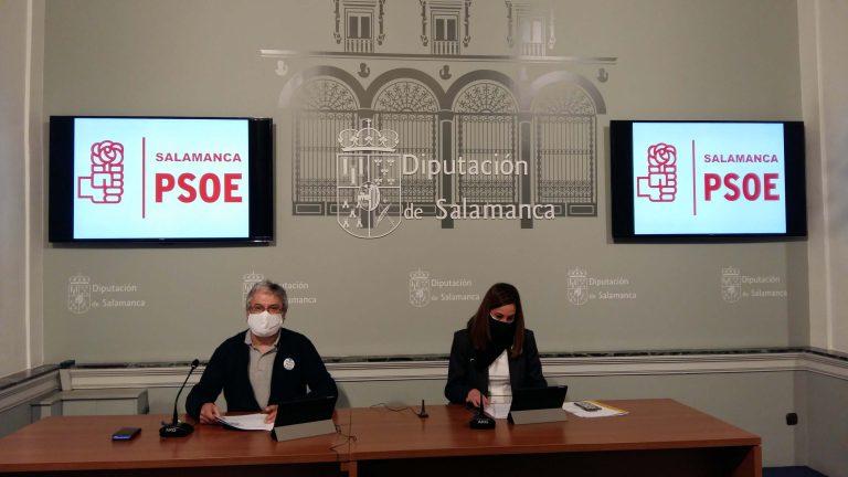 Iniciativas que el PSOE llevará al próximo Pleno de la Diputación de Salamanca