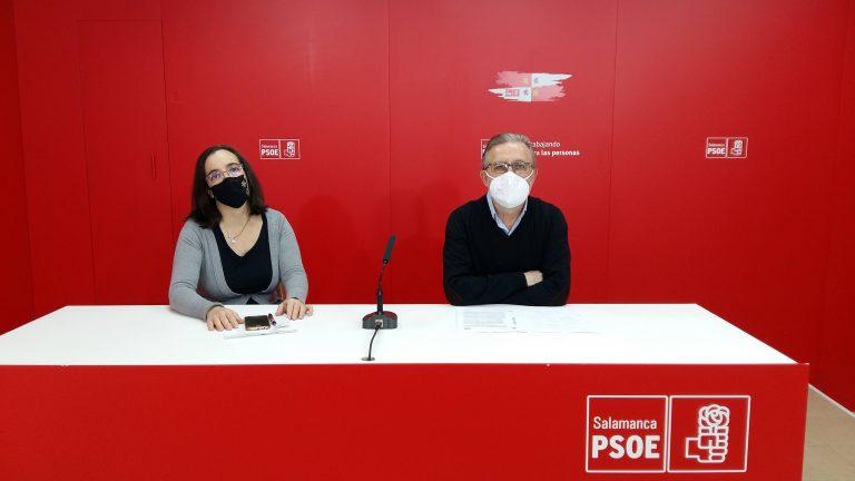Rueda de prensa del PSOE de Salamanca sobre la nueva Ley Educativa LOMLOE