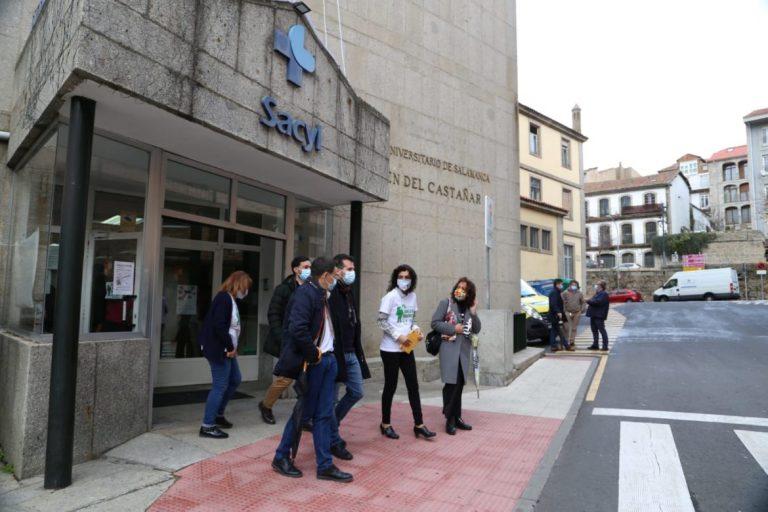 El PSOE urge a la Junta para la reapertura de las urgencias y de la hospitalización en el hospital de Béjar
