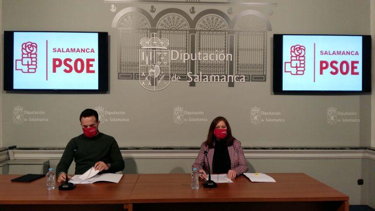 El desarrollo sostenible y facilitar el acceso de los Ayuntamientos a los fondos europeos centran las propuestas que el PSOE llevará al Pleno de la Diputación de Salamanca