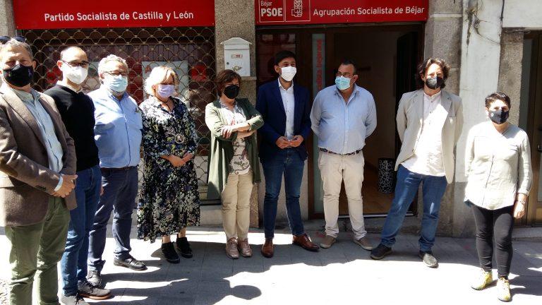 El PSOE pide a la Junta que a la hora de repartir los fondos europeos en Salamanca priorice los proyectos y no el color político de los ayuntamientos