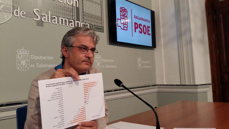 El PSOE presenta su estrategia de lucha contra la despoblación encaminada a facilitar y fomentar la vida en zonas rurales de Salamanca