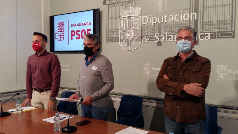 El PSOE insta a la Diputación a conceder ayudas a los ayuntamientos para la mejora urbanística, fomento del deporte y gastos sobrevenidos.
