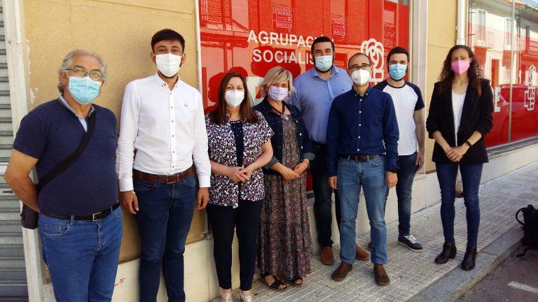 El PSOE advierte a la Junta que va a fiscalizar y vigilar el reparto que haga de los fondos europeos en la provincia de Salamanca