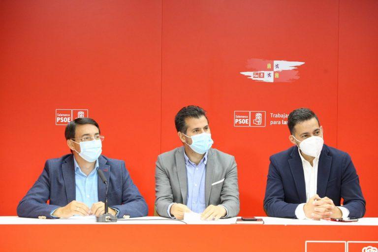 El PSOE achaca a la incapacidad y la falta de voluntad de la Junta y del PP el que el nuevo hospital de Salamanca siga sin ponerse en funcionamiento.